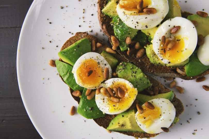 appetizer avocado bread breakfast karatay diyeti