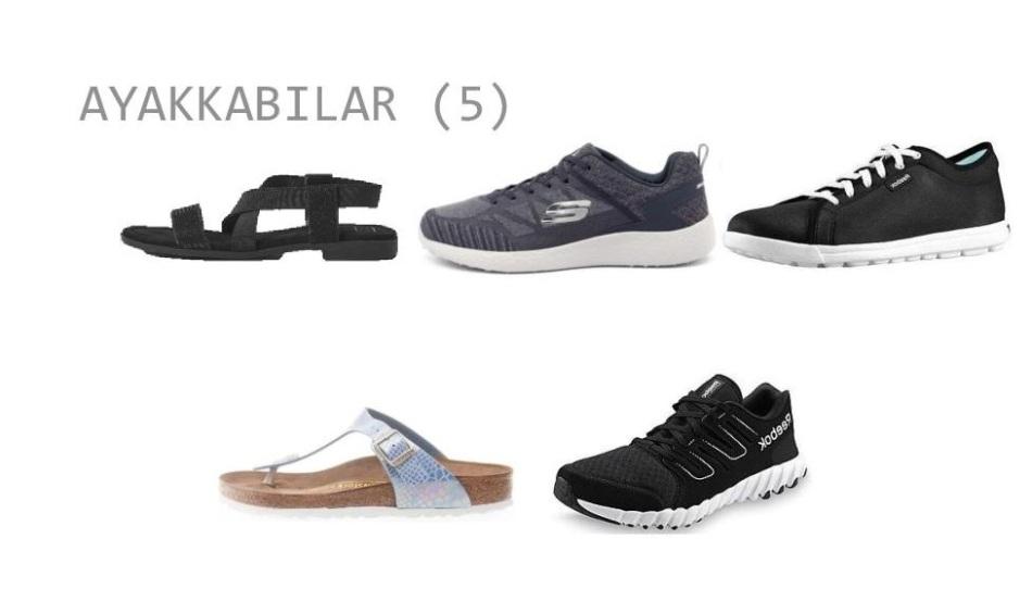pelo gardrob ayakkabılar