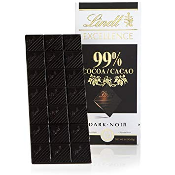 lindt 99 cacao dark chocolate bitter çikolata