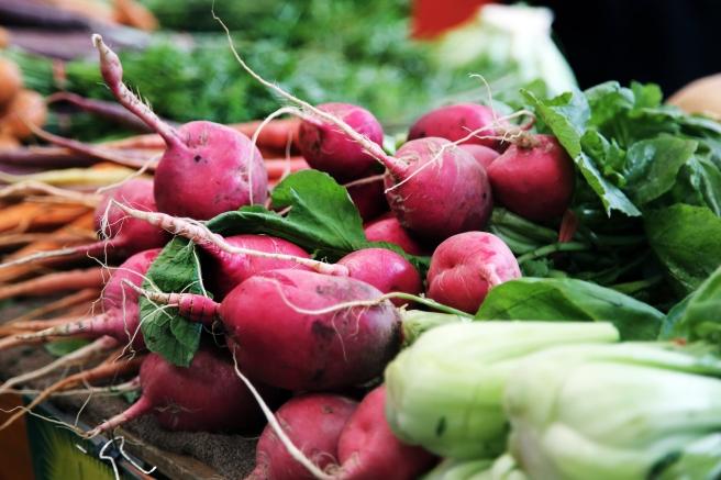root vegetables grounding