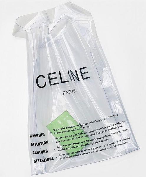 celine plastik torba